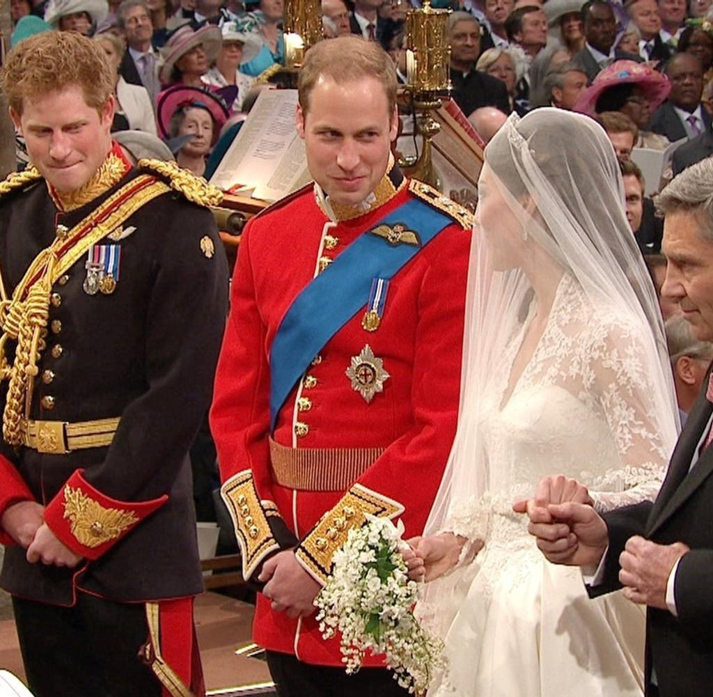 """Kate Und William Hochzeit  Kate und William Das """"Who is Who"""" des Adels bei der"""