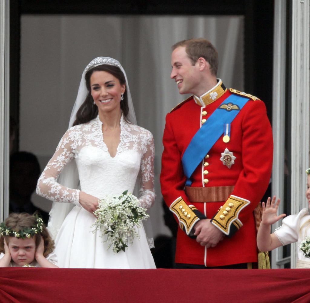Kate Und William Hochzeit  Royal Wedding Kate und Williams bockiges Blumenkind auf