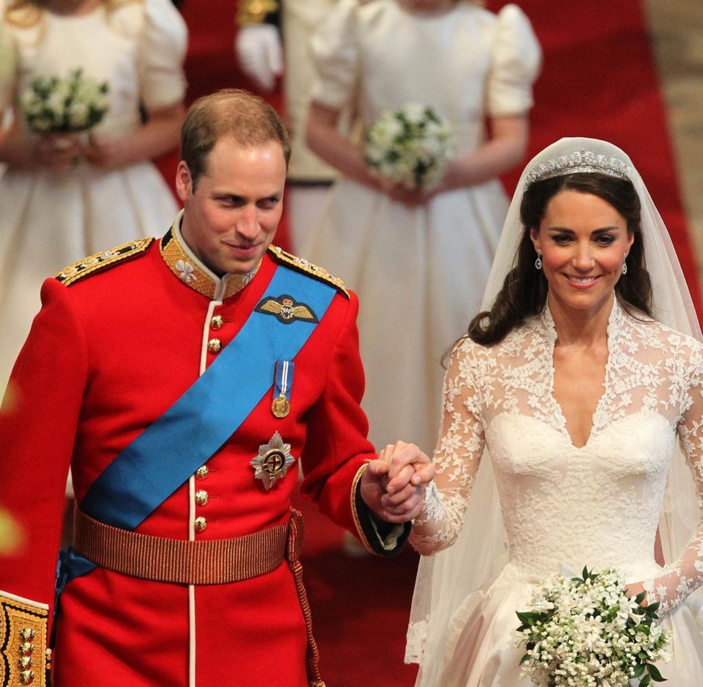 Kate Und William Hochzeit  Royal Wedding Kates Hochzeitskleid – eine Hommage an