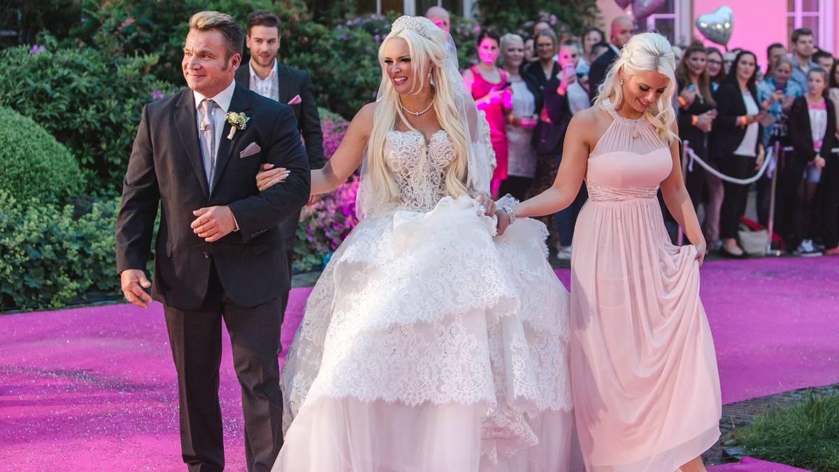 Katzenberger Hochzeit Bilder  So war Hochzeit von Daniela Katzenberger und Lucas