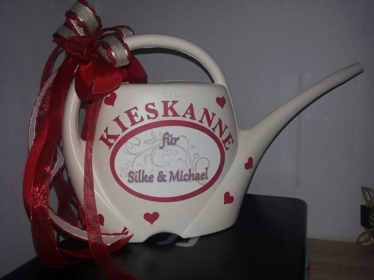 Kieskanne Hochzeit  1000 ideas about Kieskanne on Pinterest