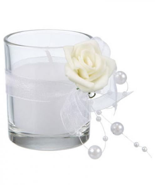 Kik Hochzeit  Kerze Hochzeit Glas Ø ca 5 cm von KiK ansehen