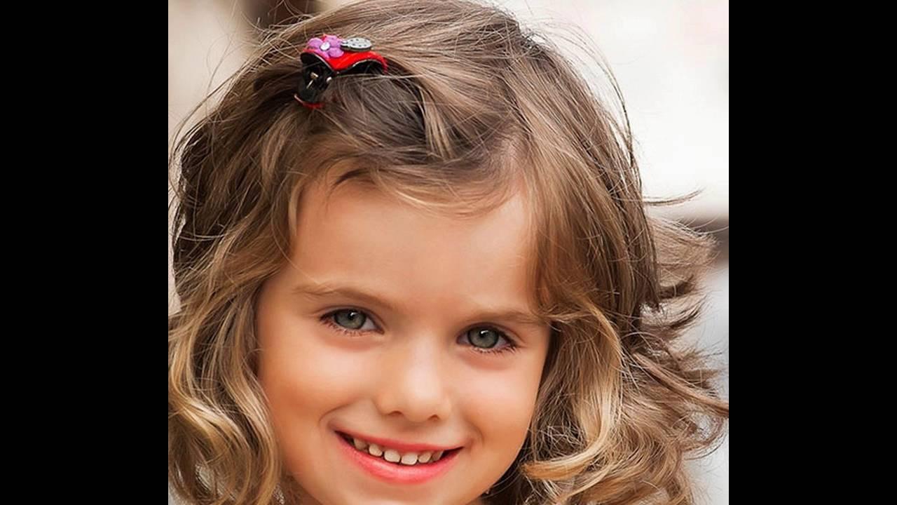 Kinder Haarschnitt Mädchen  Kurze Frisur für kleine Mädchen