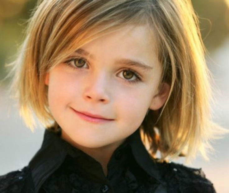 Kinder Haarschnitt Mädchen  10 best Little Girl s short hair images on Pinterest