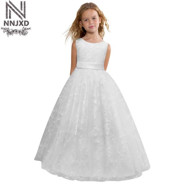 Kinder Hochzeit Kleider  Blumen Kleines Baby mädchen Hochzeit Geburtstag Dresse