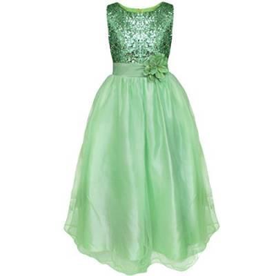 Kinder Hochzeit Kleider  Kleider in Grün von iEFiEL für Mädchen