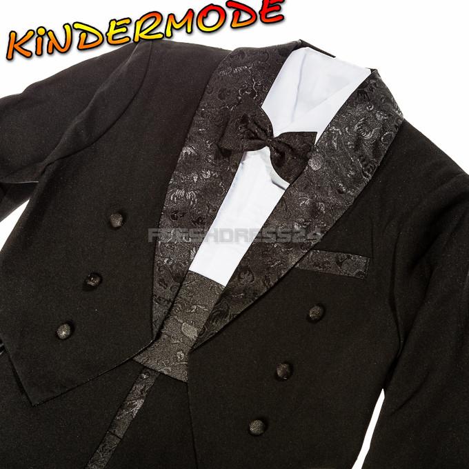 Kinderanzug Hochzeit  Kinderanzug 5 tlg Frack Smoking festlich Kinder Anzug