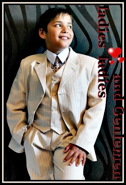 Kinderanzug Hochzeit  Kinderanzug 5 tlg EDEL & ELEGANT 4 Farben zur Auswahl Gr