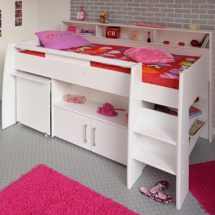 Kinderhochbett Mit Schreibtisch  Die besten 25 Kinderhochbett mit schreibtisch Ideen auf