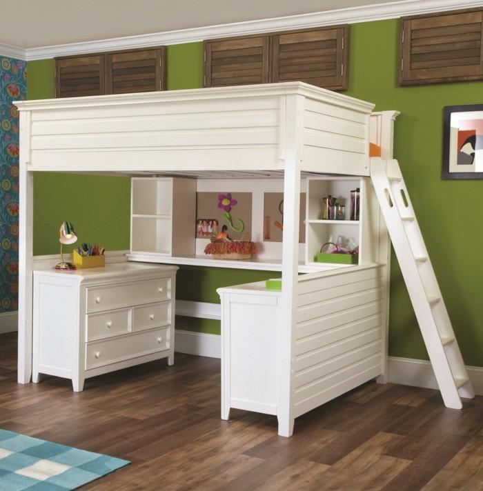 Kinderhochbett Mit Schreibtisch  Hochbett mit Schreibtisch Funktionale Betten finden