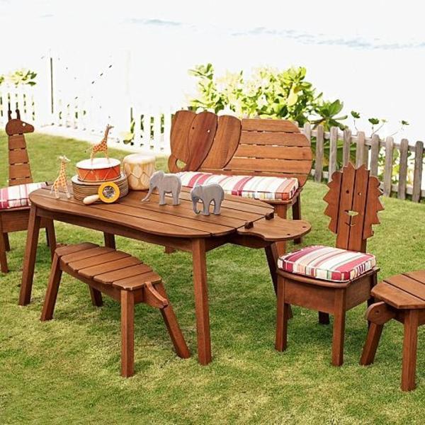 Kindersitzgruppe Garten  Kindersitzgruppe für Garten mit Sonnenschirm in Waiblingen