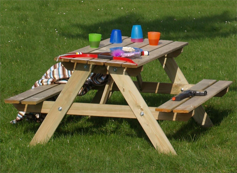 Kindersitzgruppe Garten  PLUS Kindersitzgruppe Garten Holz Kindertisch für draußen