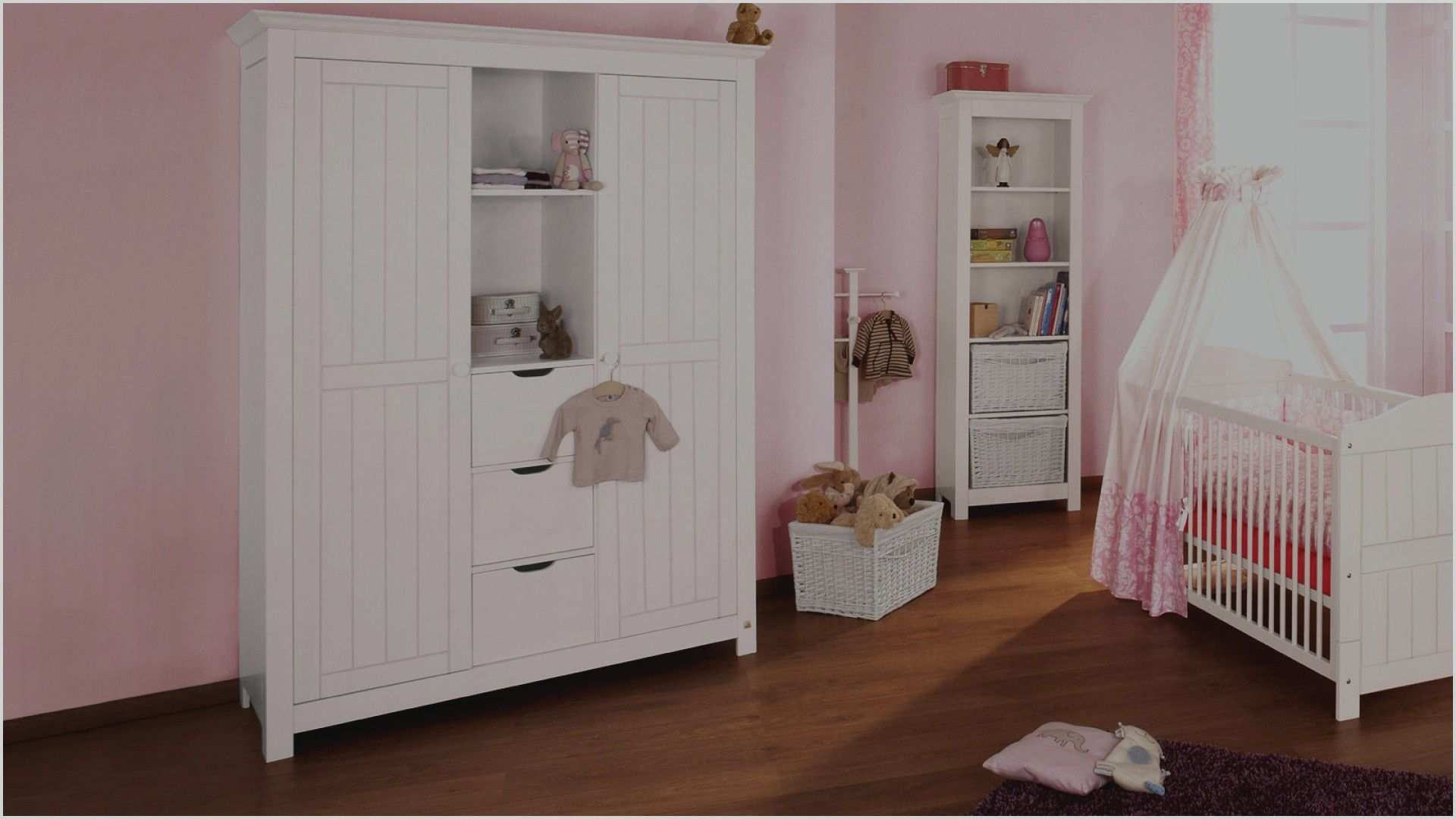 Kinderzimmer Schrank  Kinderzimmer Schrank Weiss Kleiderschrank 120x187x60cm 2