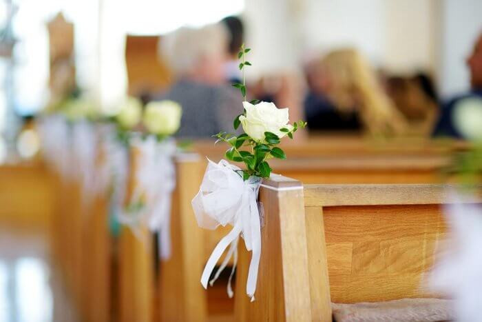 Kirchendeko Hochzeit  Kirchendeko Hochzeit