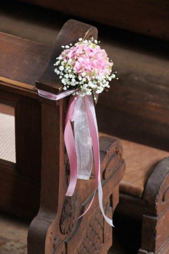 Kirchendeko Hochzeit  Hochzeit Kirchendeko