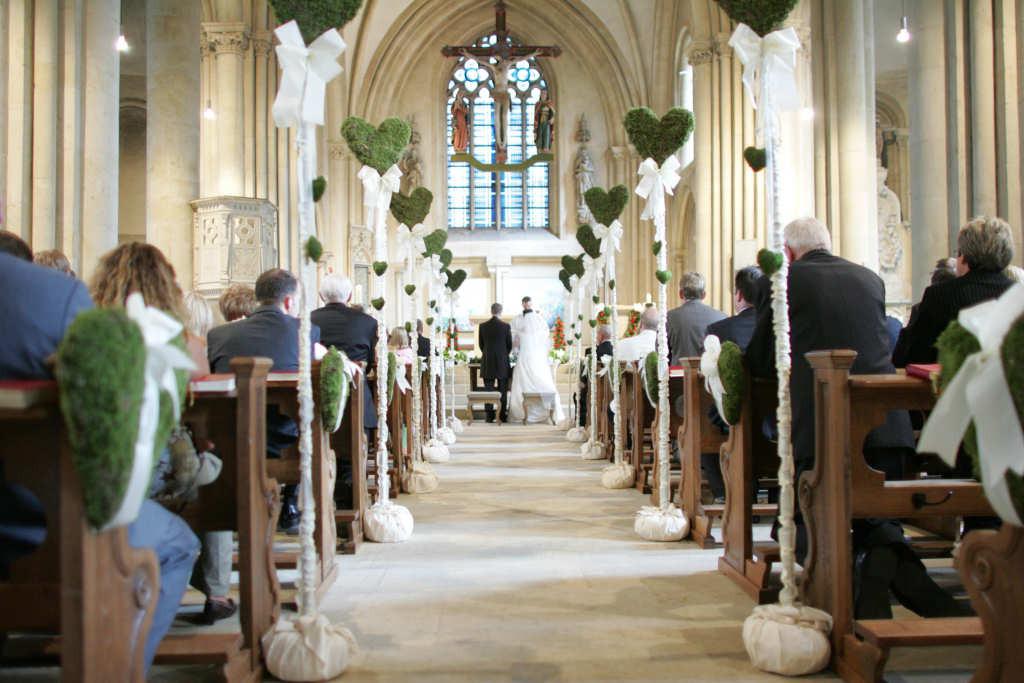 Kirchendeko Hochzeit  Hochzeiten