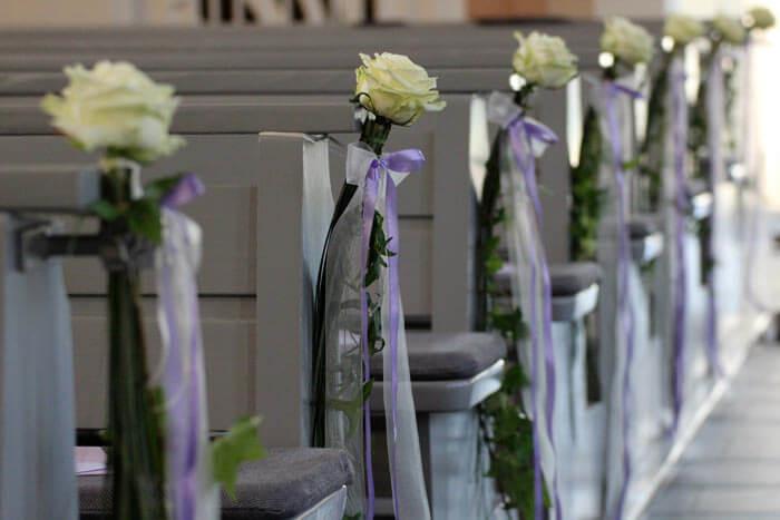 Kirchendeko Hochzeit  Kirchendeko für Hochzeit Hochzeitsportal24
