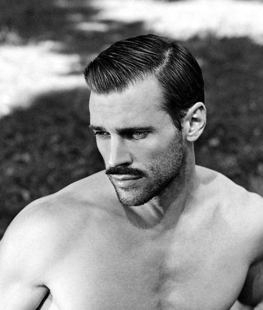 Klassische Herren Frisuren  harte Teil klassische Herren Haarschnitt