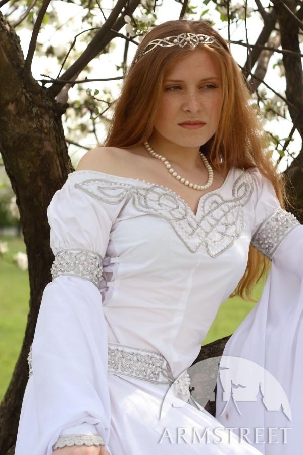 """Kleid Für Hochzeit  Mittelalter Kleid Für Hochzeit """"Isolde"""" kaufen Vorhanden"""