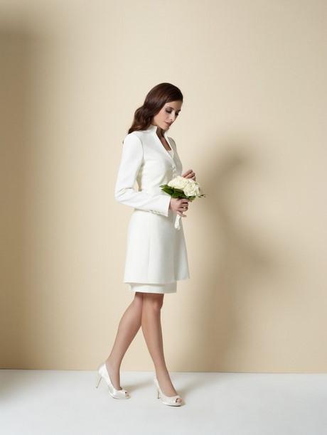 Kleid Für Standesamtliche Hochzeit  Etuikleid weiß standesamt