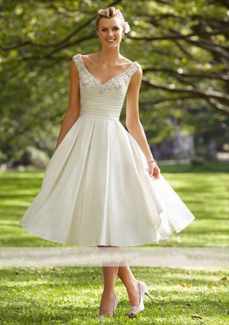 Kleid Hochzeit Kurz  Kleid weiß kurz hochzeit