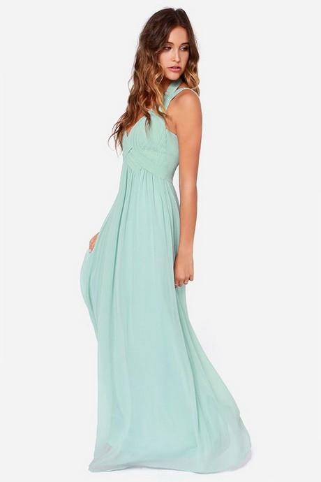 Kleid Mintgrün Hochzeit  Maxi kleid mintgrün