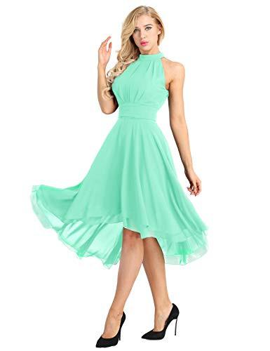Kleid Mintgrün Hochzeit  Abendkleider von Tiaobug in Grün für Damen