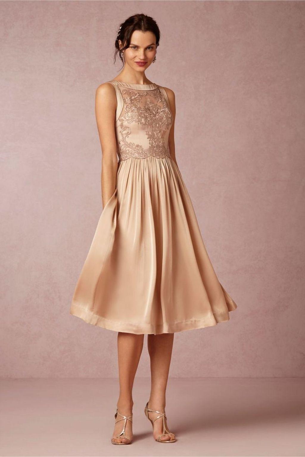 Kleider Brautmutter Hochzeit  festliche kleider zur hochzeit knielang für günstig