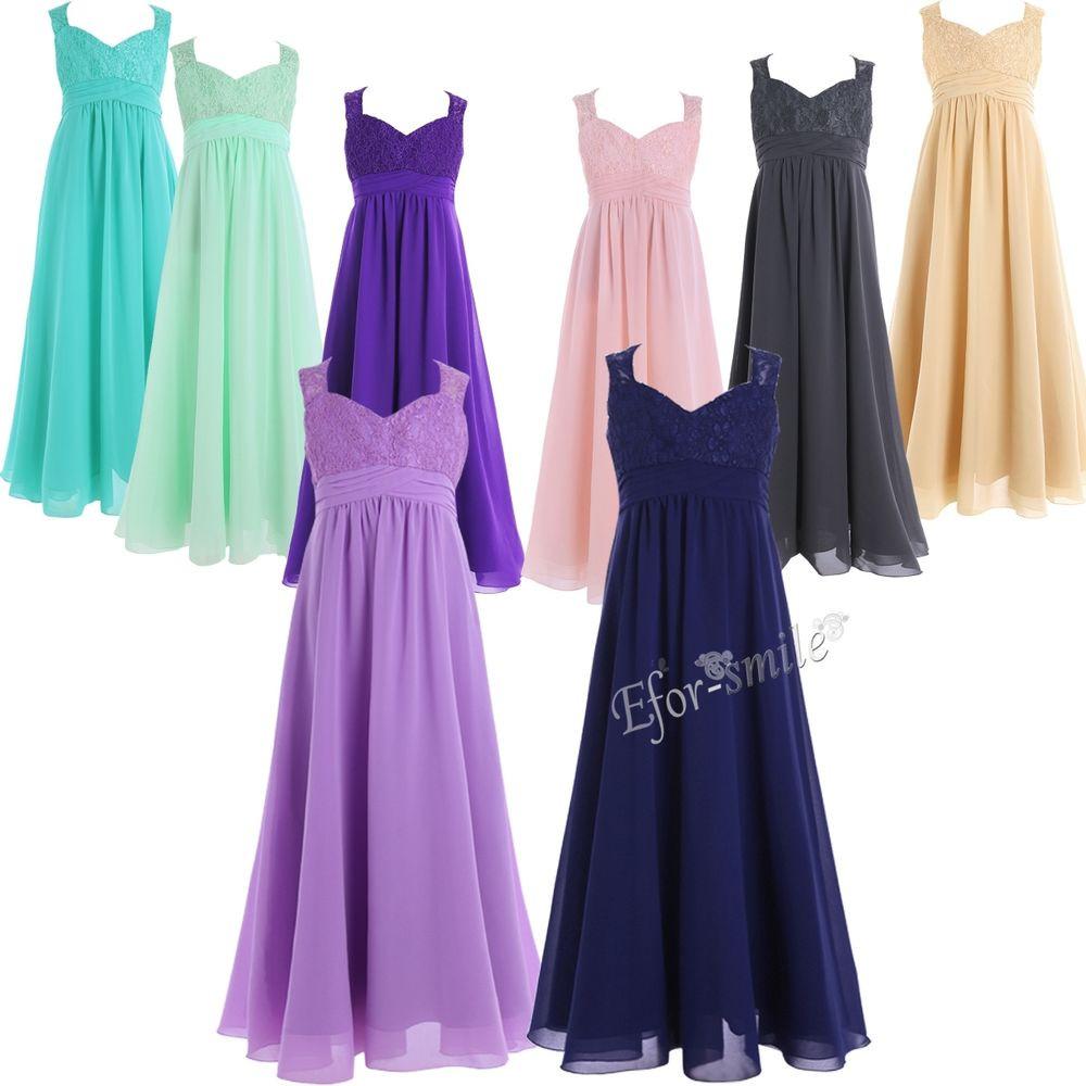 Kleider Festlich Hochzeit  Mädchen Kinder Kleider Festlich Kleid Blumenmädchenkleider