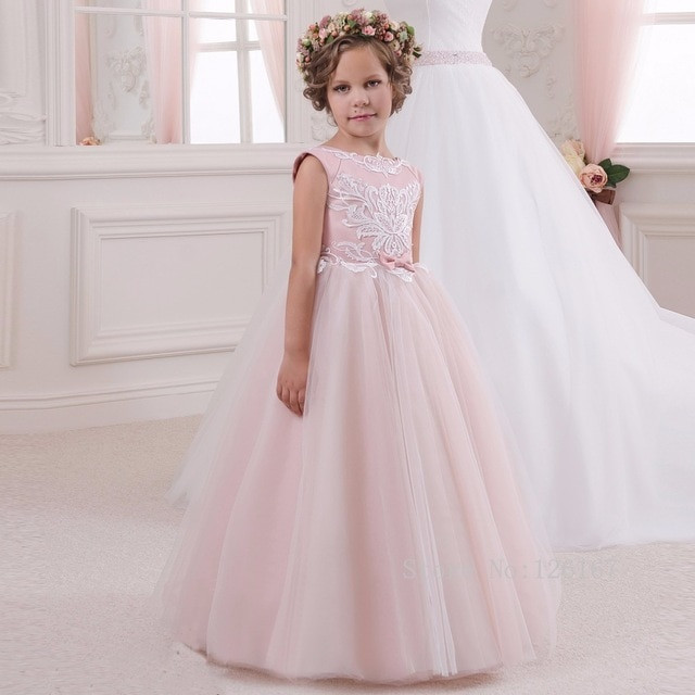 Kleider Für Hochzeit Für Kinder  Neue Heiße Verkauf Rosa kinder bilder Blumenmädchen