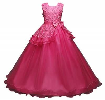 Kleider Für Hochzeit Für Kinder  Kleider in Rot von Scothen für Mädchen