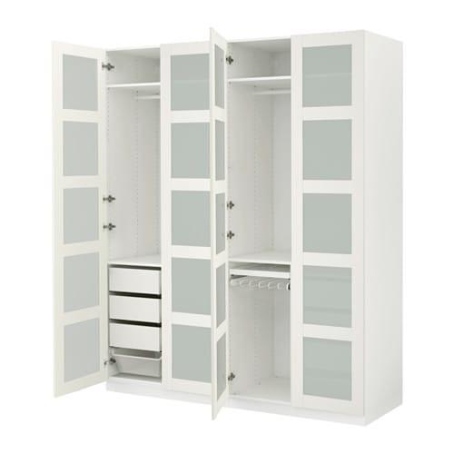 Kleiderschrank Ikea  PAX Kleiderschrank 200x60x236 cm IKEA