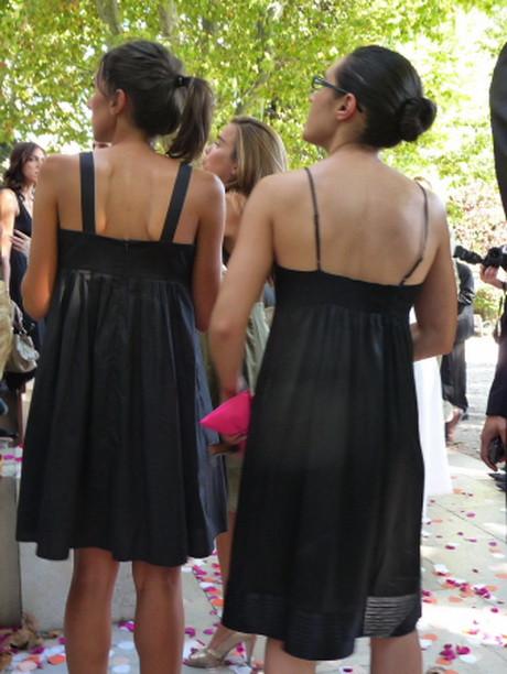 Kleidung Hochzeit Gast  Hochzeitsgast schwarzes kleid