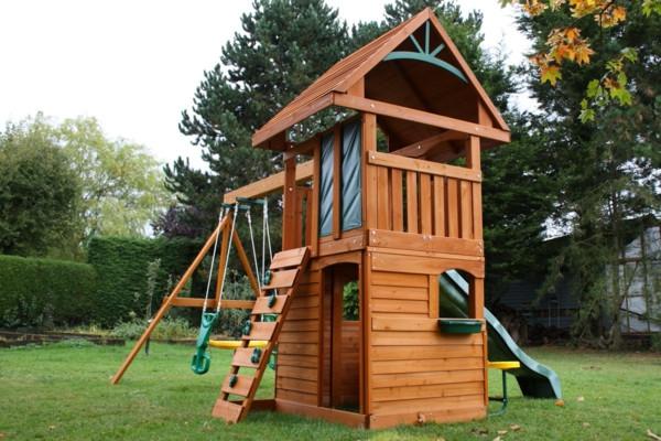 Klettergerüst Garten  Speziell für Kinder Klettergerüst im Garten Archzine