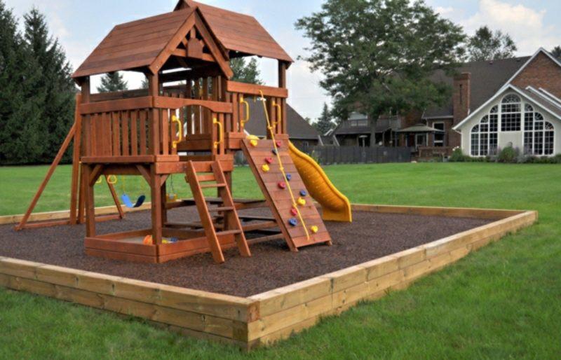 Klettergerüst Garten  Klettergerüst im Garten eine fantastische Spielecke für