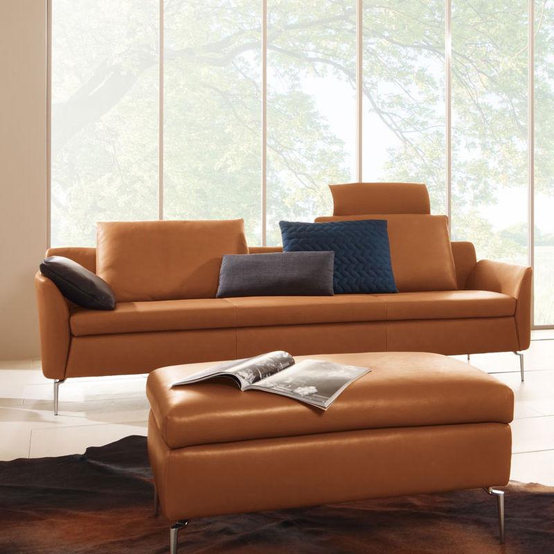 Koinor Sofa  Koinor Fame 3 Seater Sofa Designer sofa handmade in Germany
