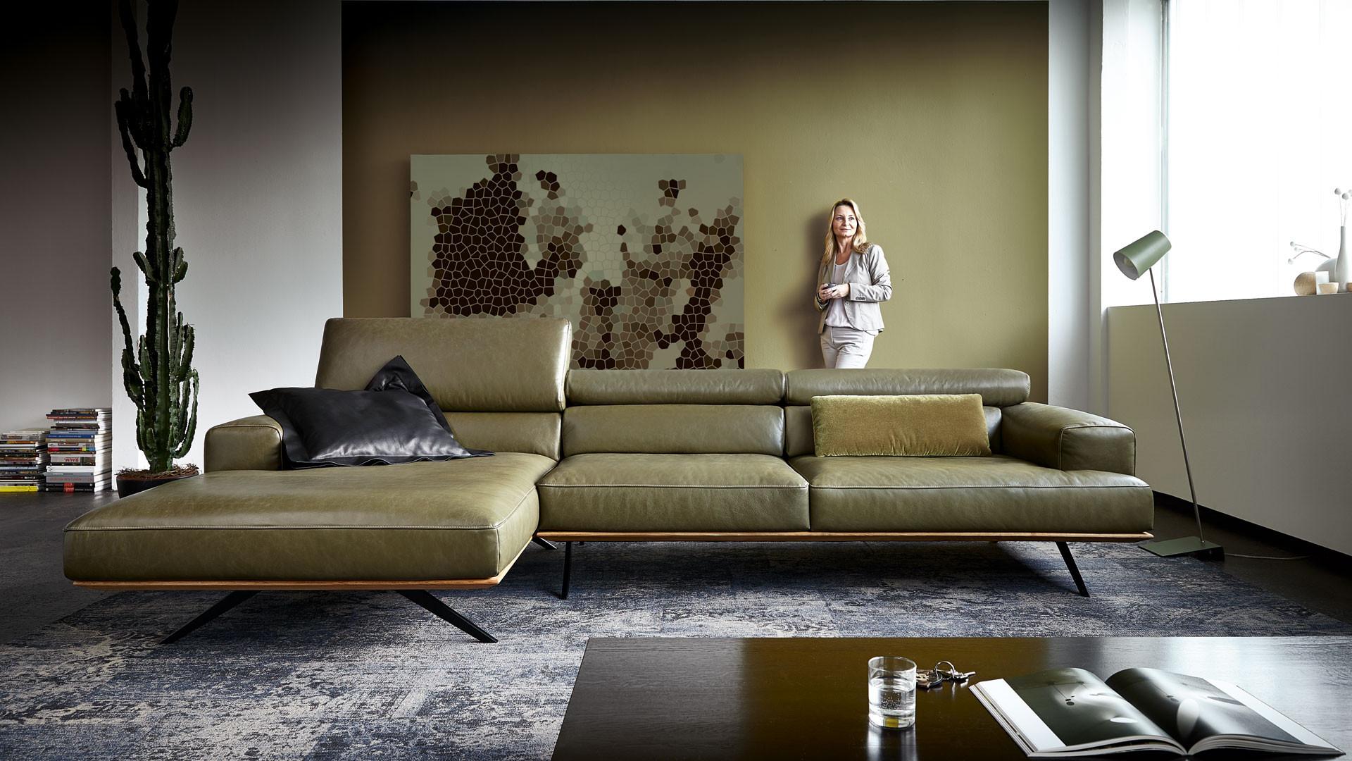 Koinor Sofa  Designersofas Polstermöbel sofas for friends dinner