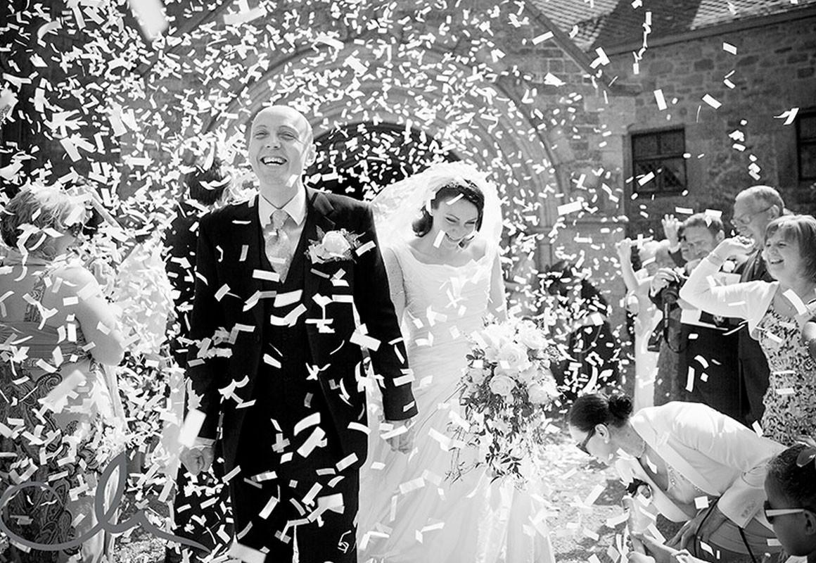 Konfettikanone Hochzeit  Konfettikanonen für Hochzeit
