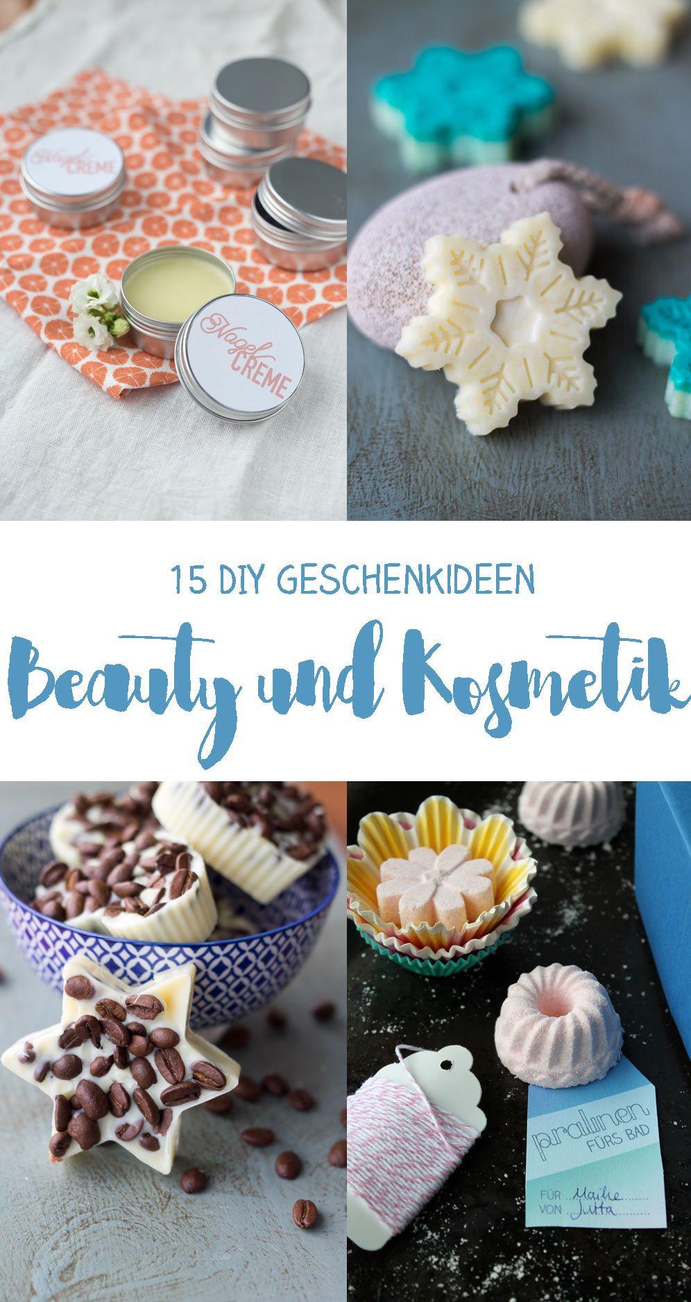 Kosmetik Geschenke  15 DIY Kosmetik Geschenkideen zum Selbermachen