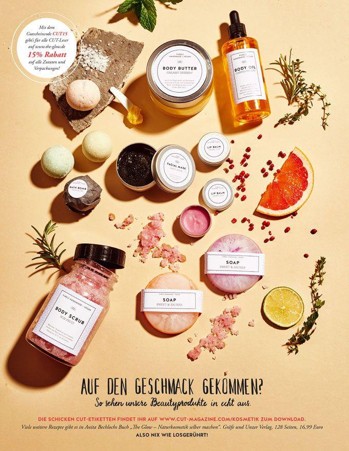 Kosmetik Geschenke  Cut Magazine 13 Kosmetik Etiketten zum Ausdrucken
