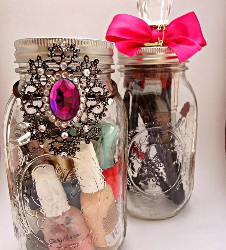 Kosmetik Geschenke  Geschenke im Glas zu Weihnachten 17 Ideen & Rezepte