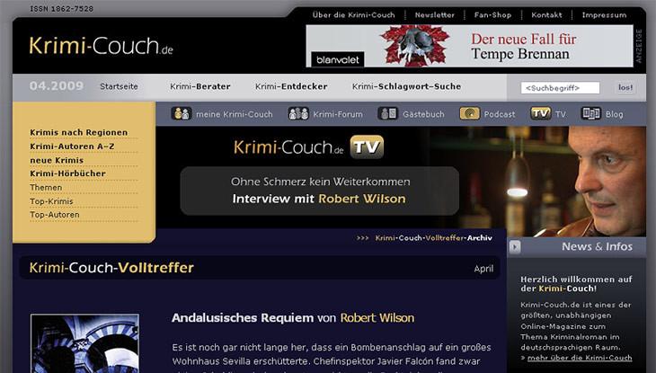 Krimi Couch  Alle Preisträger Grimme line Award