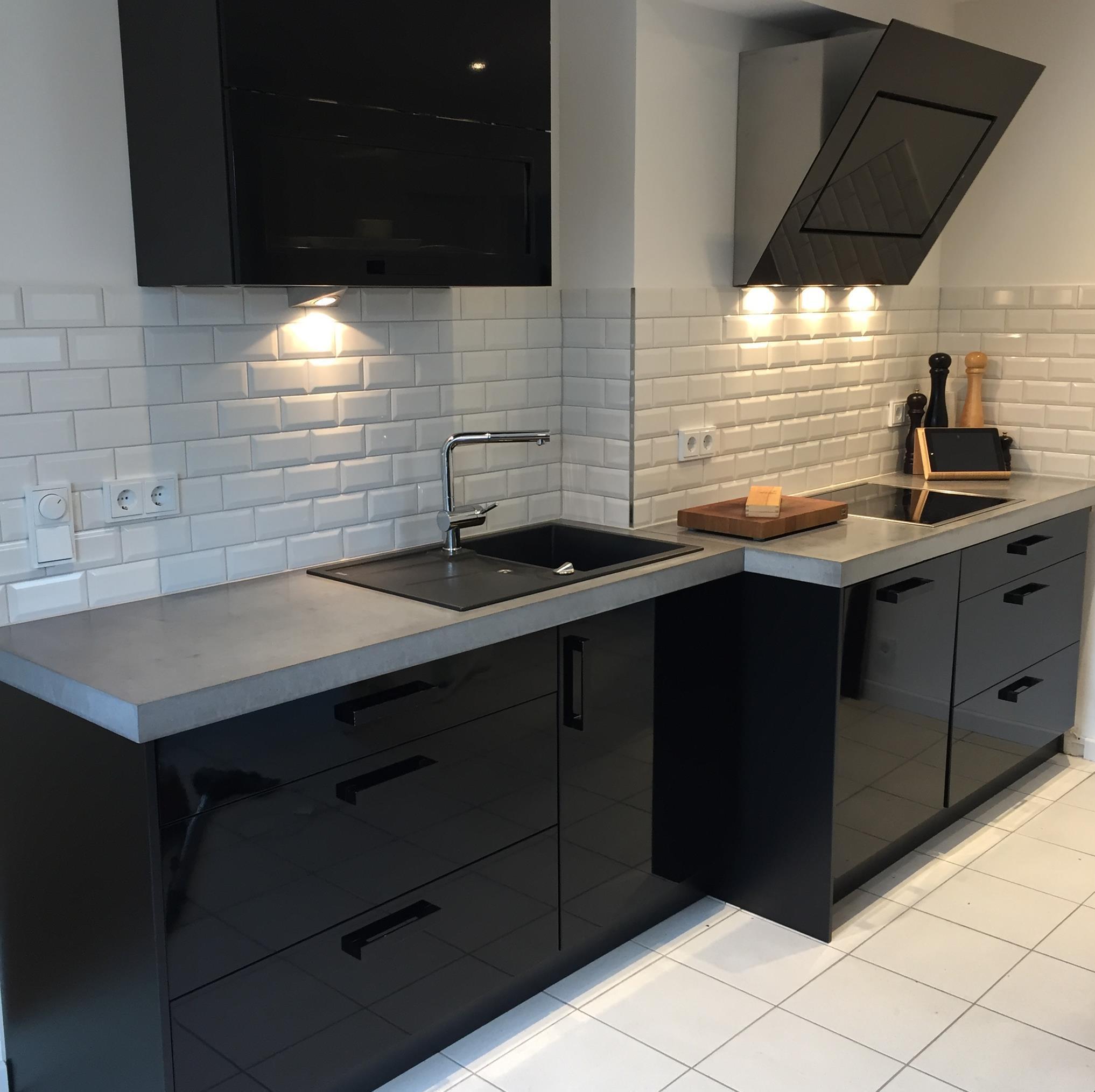 Küche Arbeitsplatte  Arbeitsplatten aus Beton DIY Anleitung mit Betonrezept