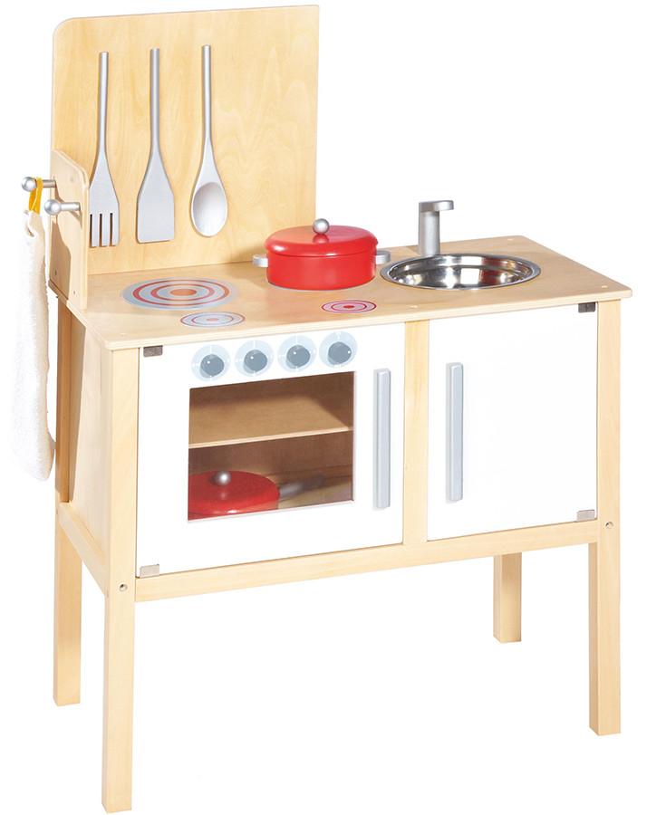 Küche Kinder  Pinolino Kinder Kombi Küche JETTE mit Zubehör