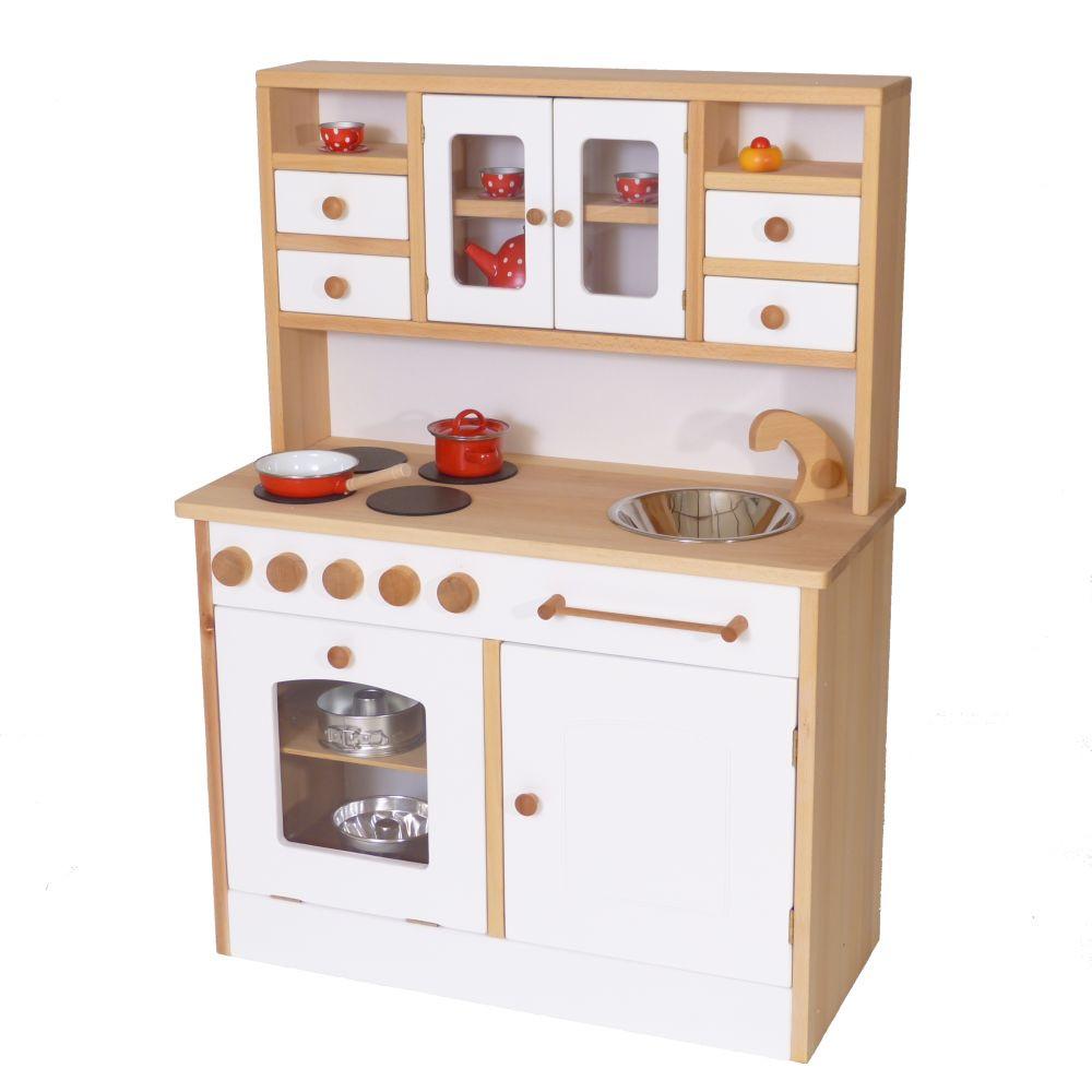 Küche Kinder  Weiße stabile Kinder Spiel Küche