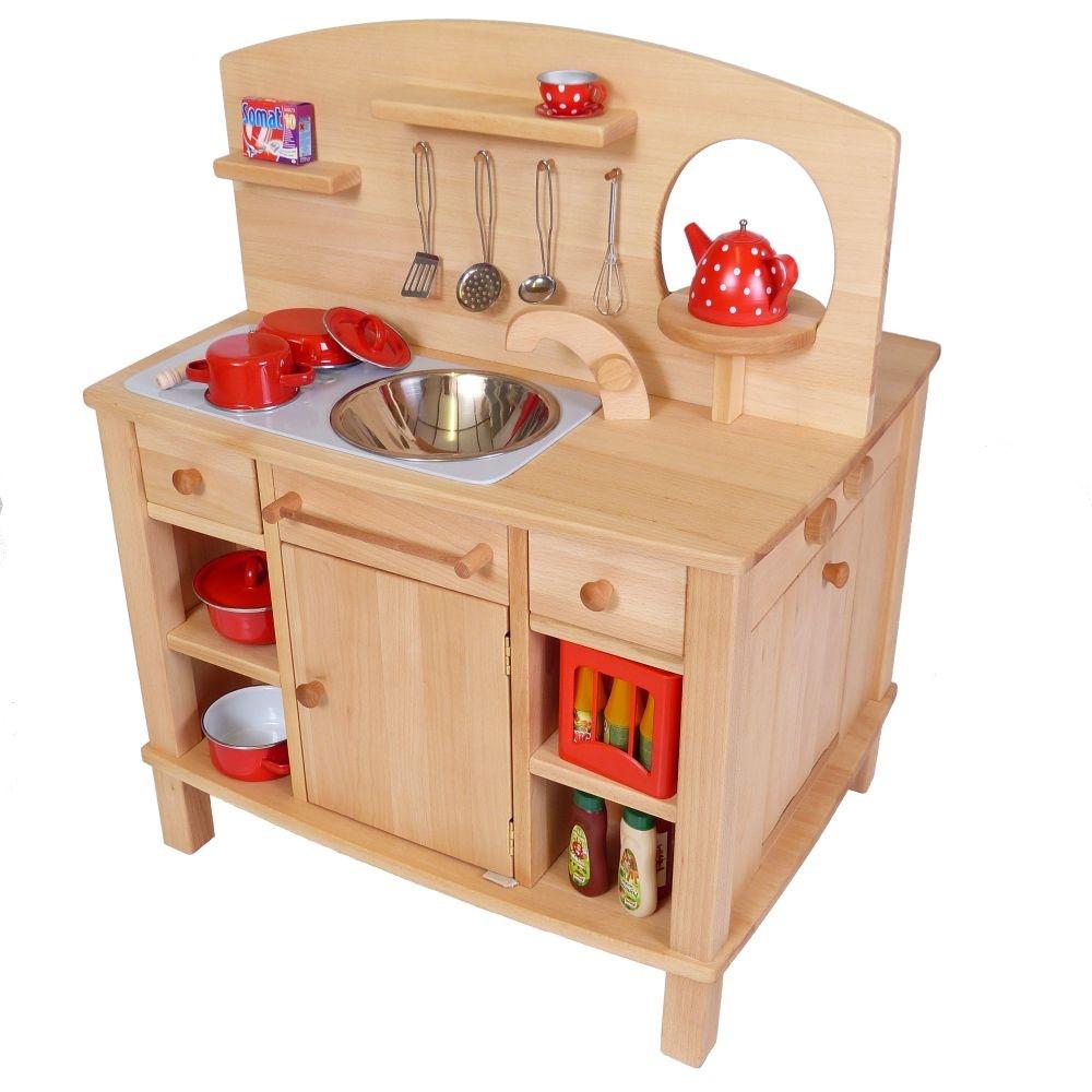 Küche Kinder  4 seitg bespielbare Kinder Küche