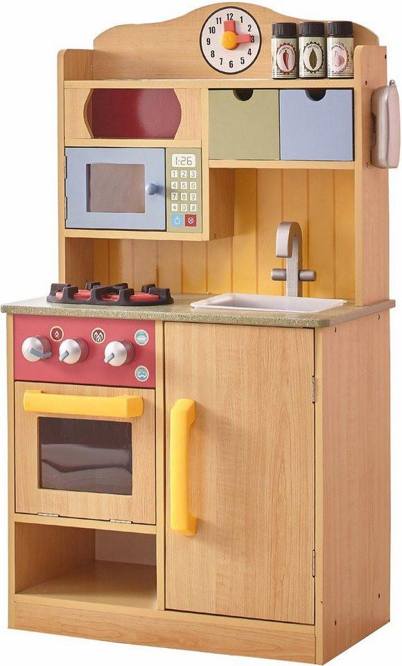 Küche Kinder  TEAMSON Kids Küche für Kinder Spielküche mit Accessoires