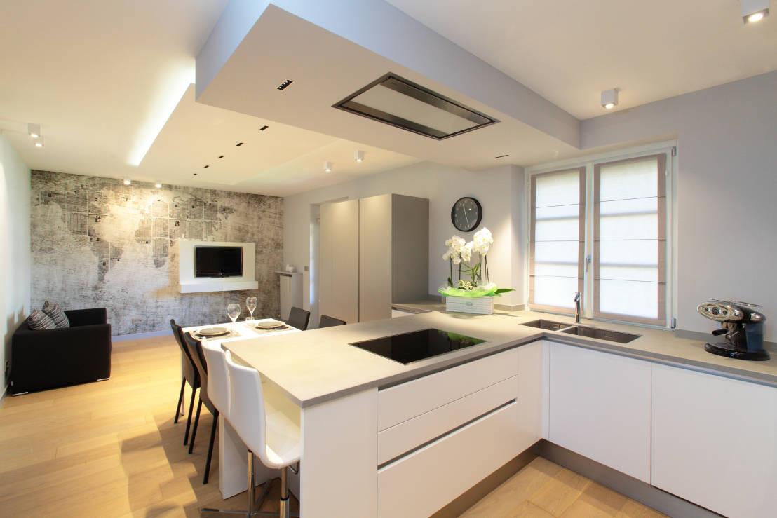Küche Mit Kochinsel  Kleine Küche mit Kochinsel 5 grandiose Ideen