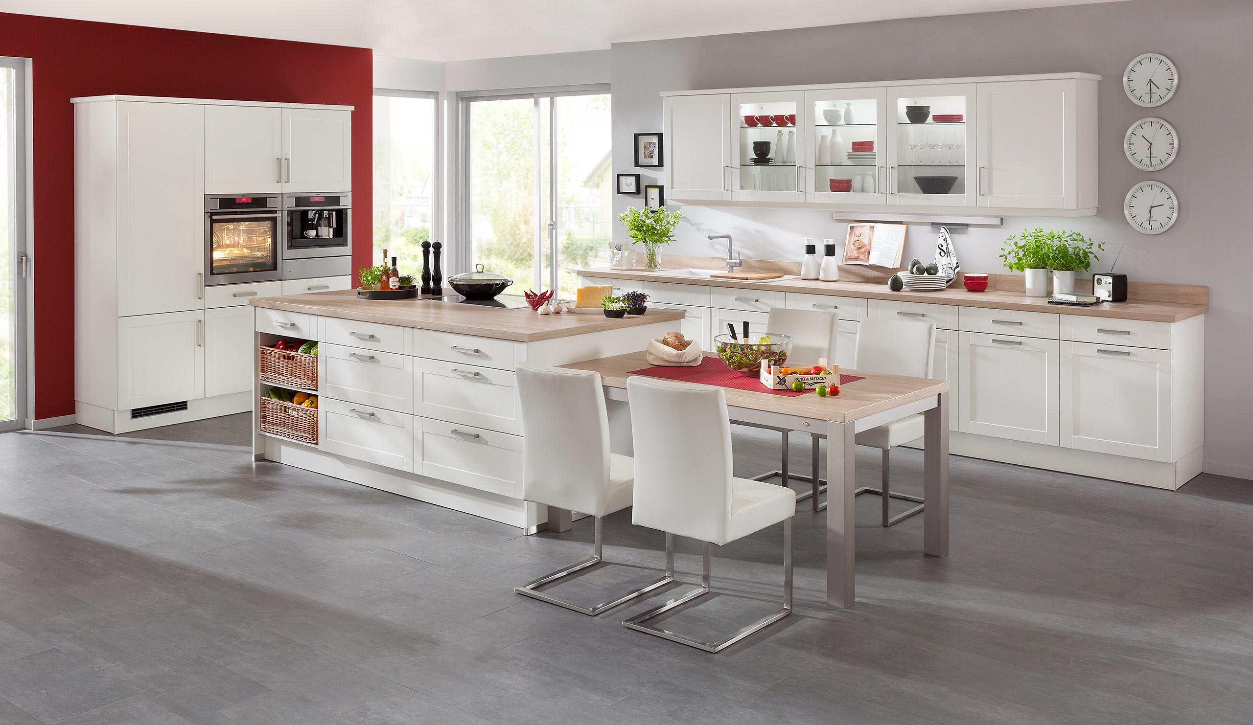 Küche Quelle  Classic Einbauküche Estrala Weiss Küchen Quelle