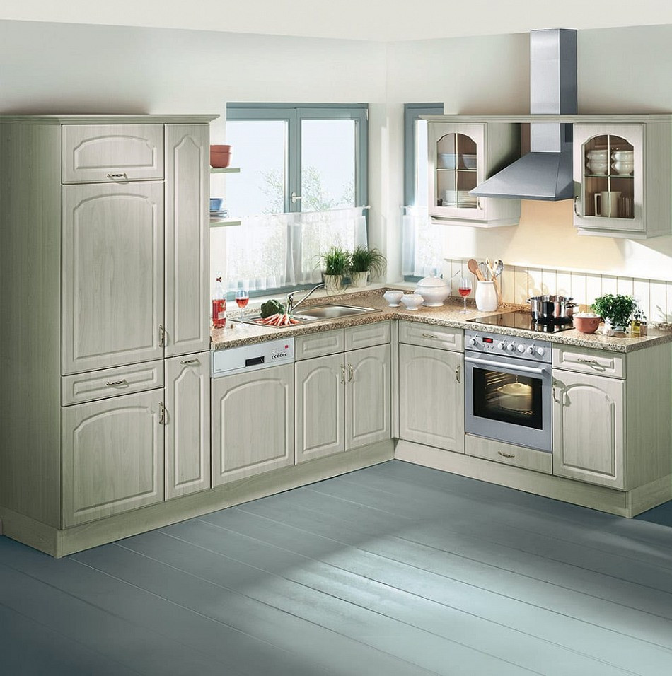 Küche Quelle  Landhaus Einbauküche Leriella Ahorn Gruen Küchen Quelle